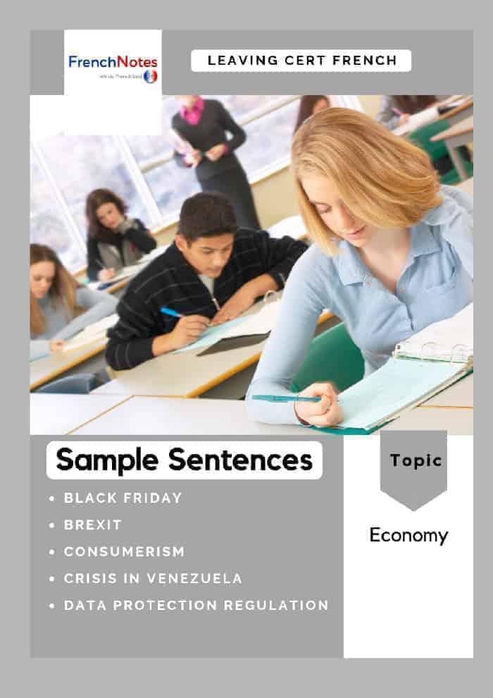 Leaving Cert Sentences