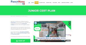 Junior Cert French Plan