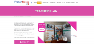 French Notes Teacher Plan