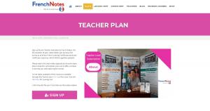 French Notes Teacher Plan