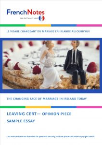 Changing face of marriage in Ireland today opinion piece