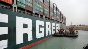 Suez Canal Blocked